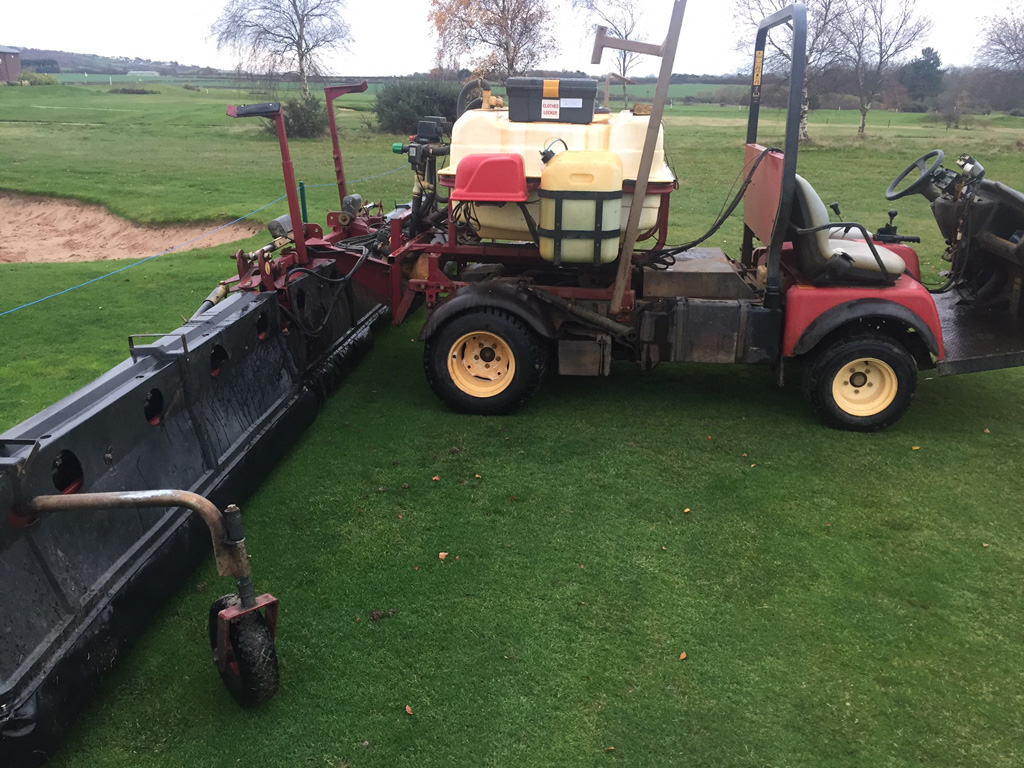 Caldy GC shrouded boom cover sprayer