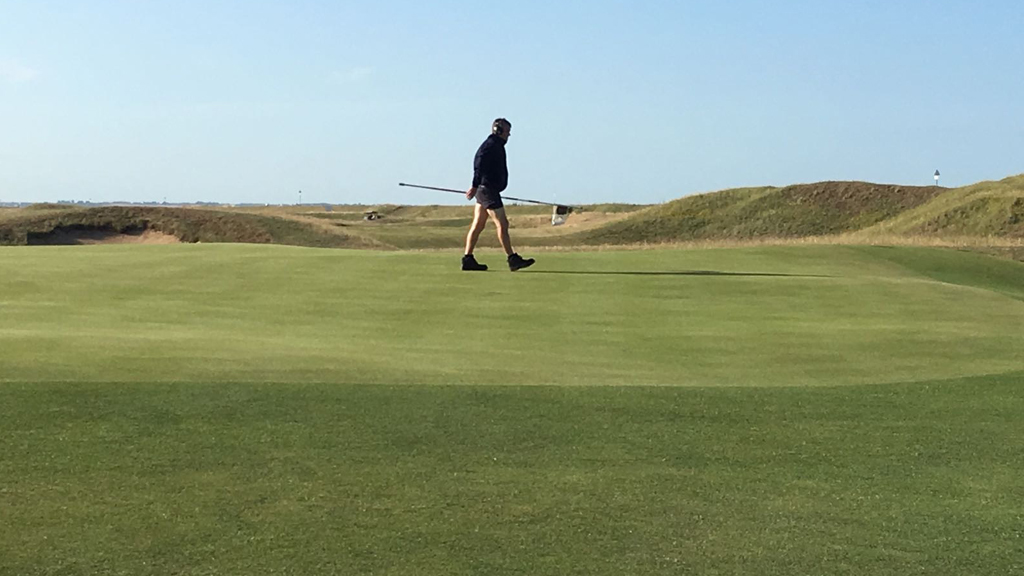 Summer greens quality at Royal Cinque Ports
