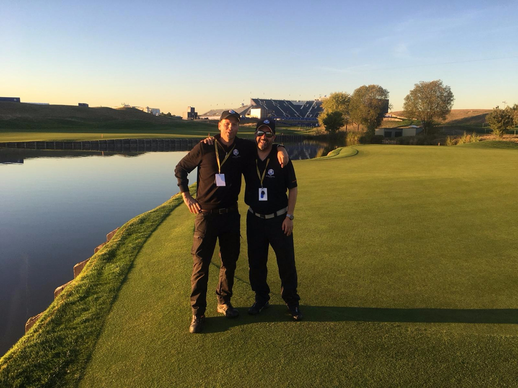 LGN Ryder Cup preparation - Lars Tveter and Daniel Lightfoot