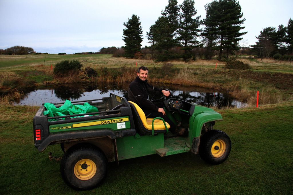 Mapping of water resources and ecological features at Caldy GC