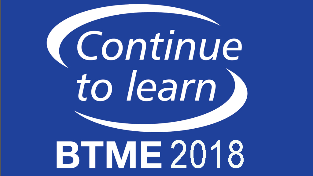 BTME 2018 Continue to Learn