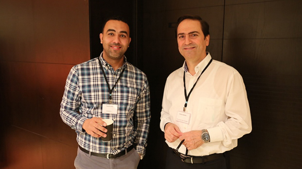 Syngenta L&G Gulf launch event - Yousef El-Zaza (left)