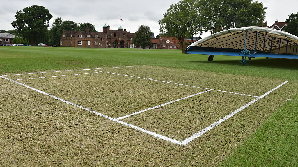 Radley College cricket square