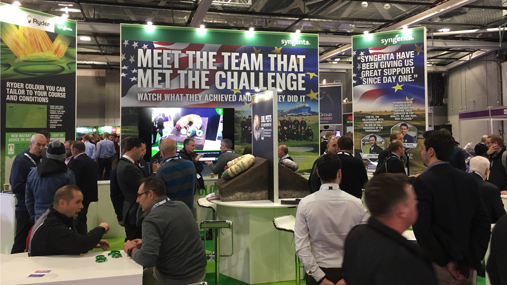 Syngenta stand buzzing and busy with customers at BTME 2019