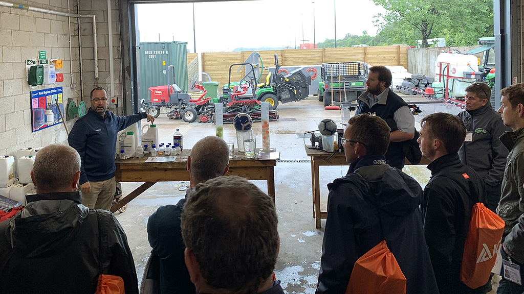 Daniel Lightfoot at Turf Science Lite 2019