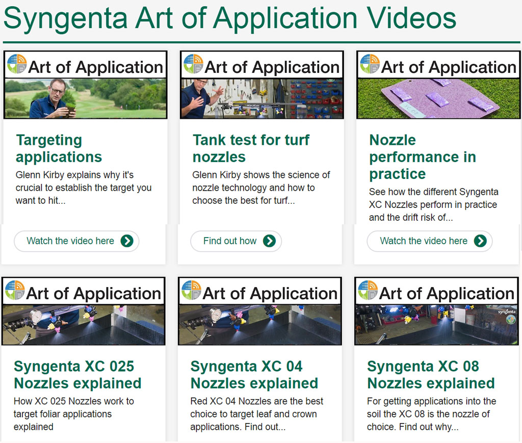 GreenCast video index page