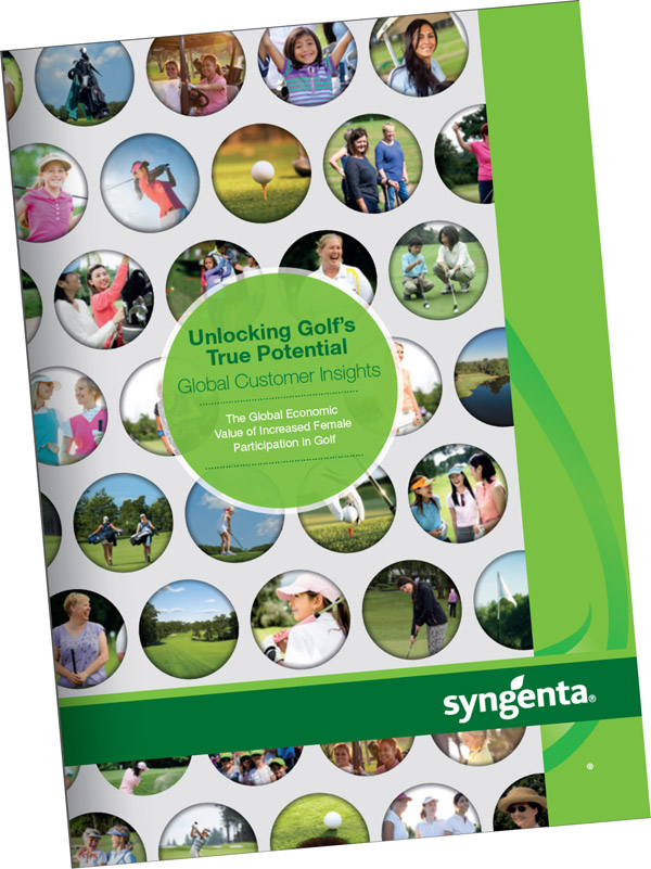 Syngenta Unlocking Golf's True Potential - Customer Insights Report 2016 - Female participation cover