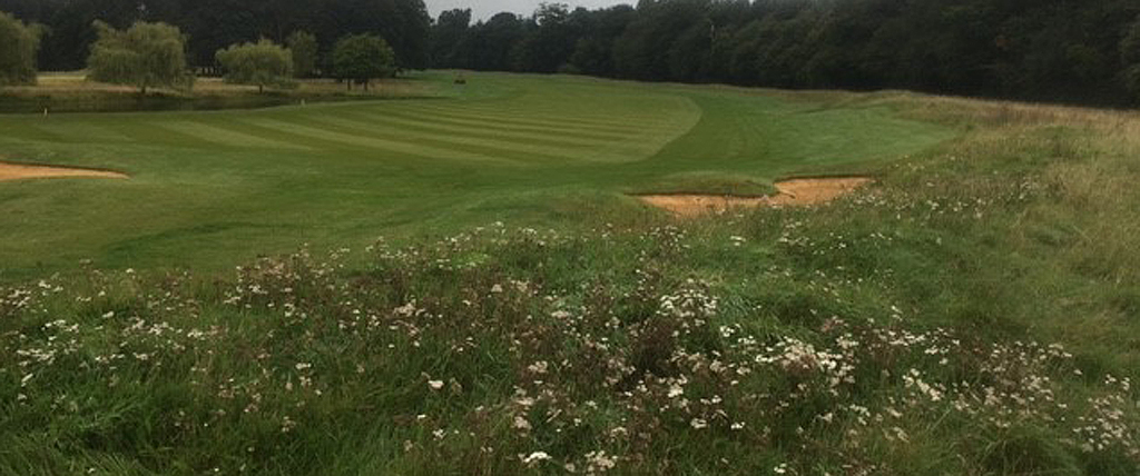 Bowood course with wildflower areas
