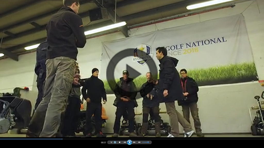 Le Golf National intro video 1