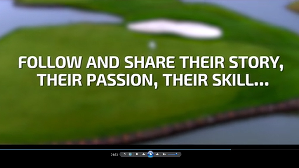 Le Golf National intro video 2