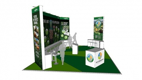 Syngenta stand at BTME