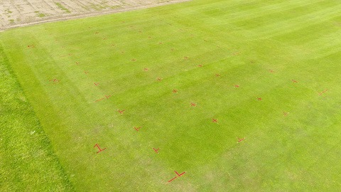 STRI Lockdown trial Week 5 aerial overview