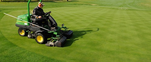 Mowing Primo Maxx treated greens