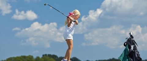 Junior attraction for golf