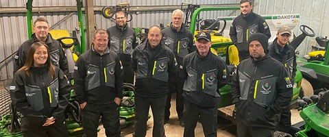 West Lancashire Golf Club team workwear