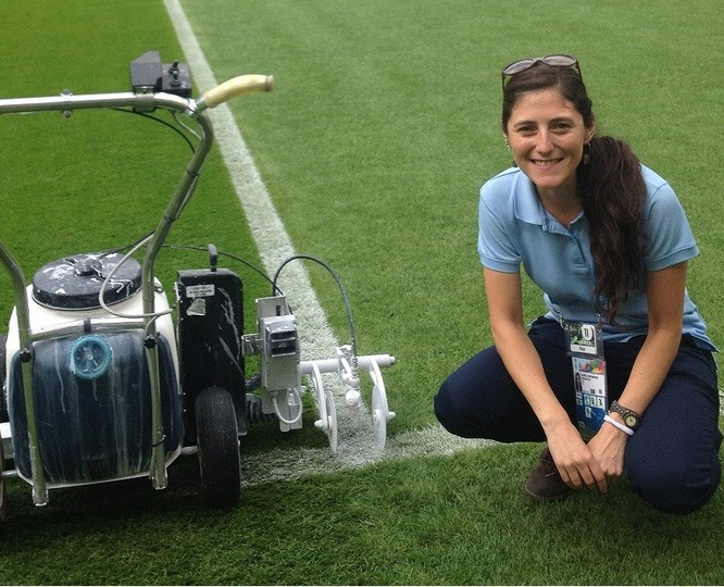 Marcela Munoz, Turf Technical Manager EAME