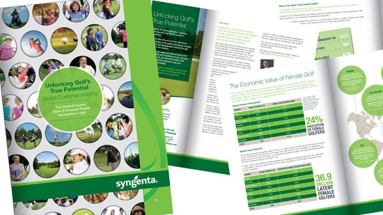 Syngenta Unlocking Golf's True Potential - Customer Insights Report 2016 - Female participation pages