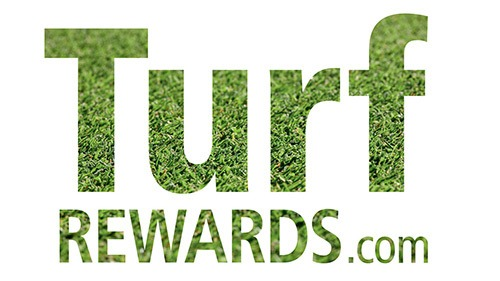 Turf Rewards logo - grass