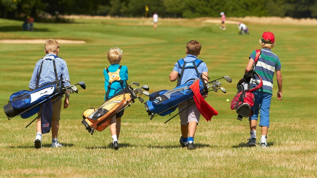 Youth golf - boys group