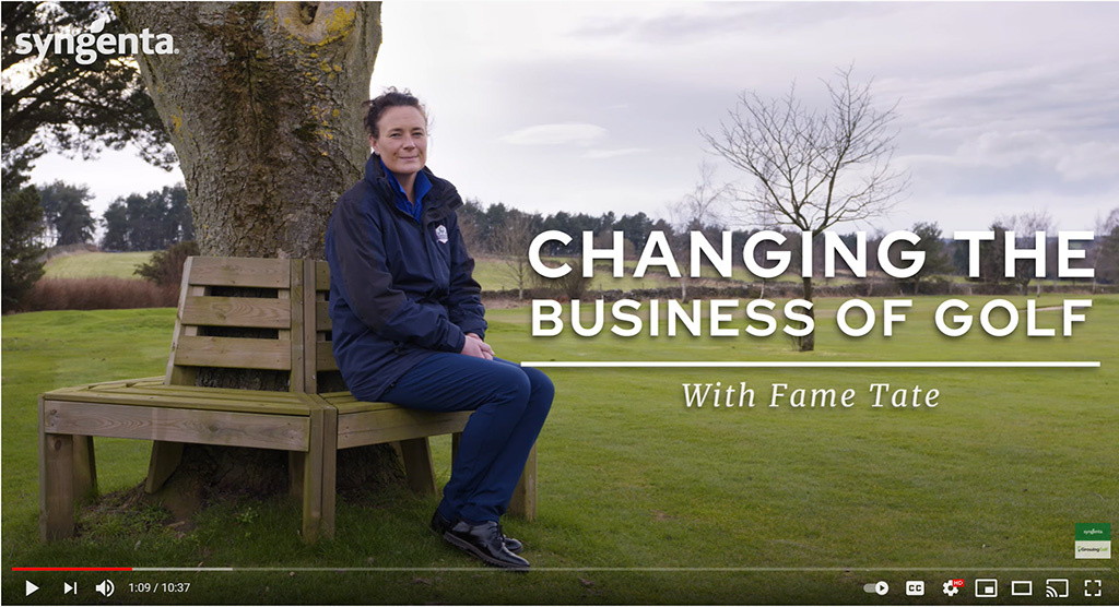 Fame Tate Changing the business of golf