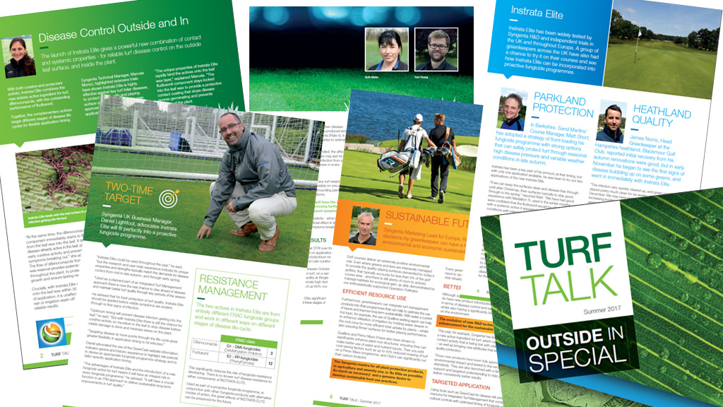 Turf Talk Summer 2017 page montage