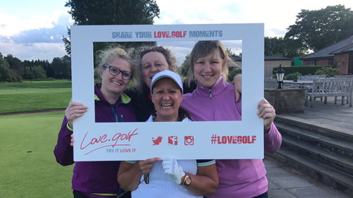 Walsall GC ladies x 500